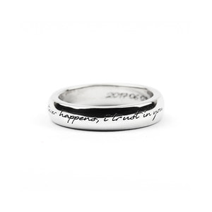 Signature Band Ring_Medium_S