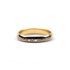 Signature Band Ring_Thin_G